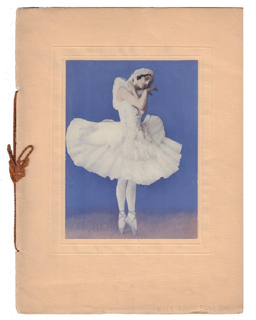 """[Russian ballet] Programme [""""Mademoiselle Anna Pavlova"""""""