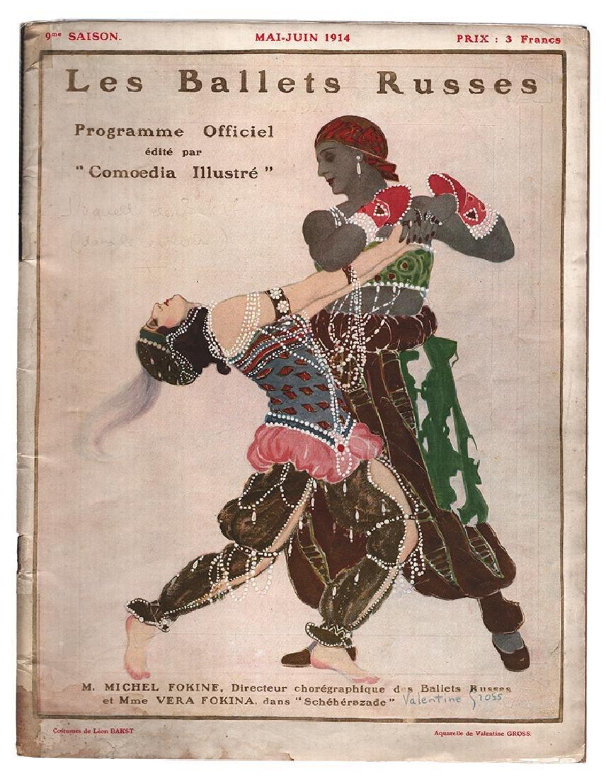 "[Michel and Vera Fokine] ""Comoedia illustre"" 1914"