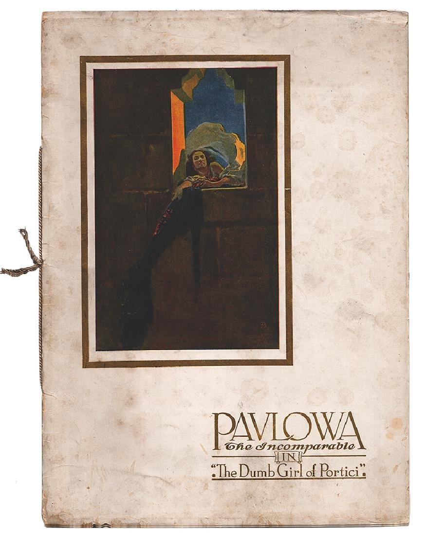 [Anna Pavlova; Russian ballet] Anna Pavlova