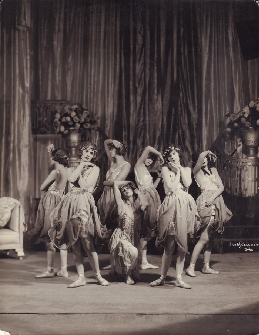 "Art Nouveau. Photo. The ballet scene ""The Rose girl"""