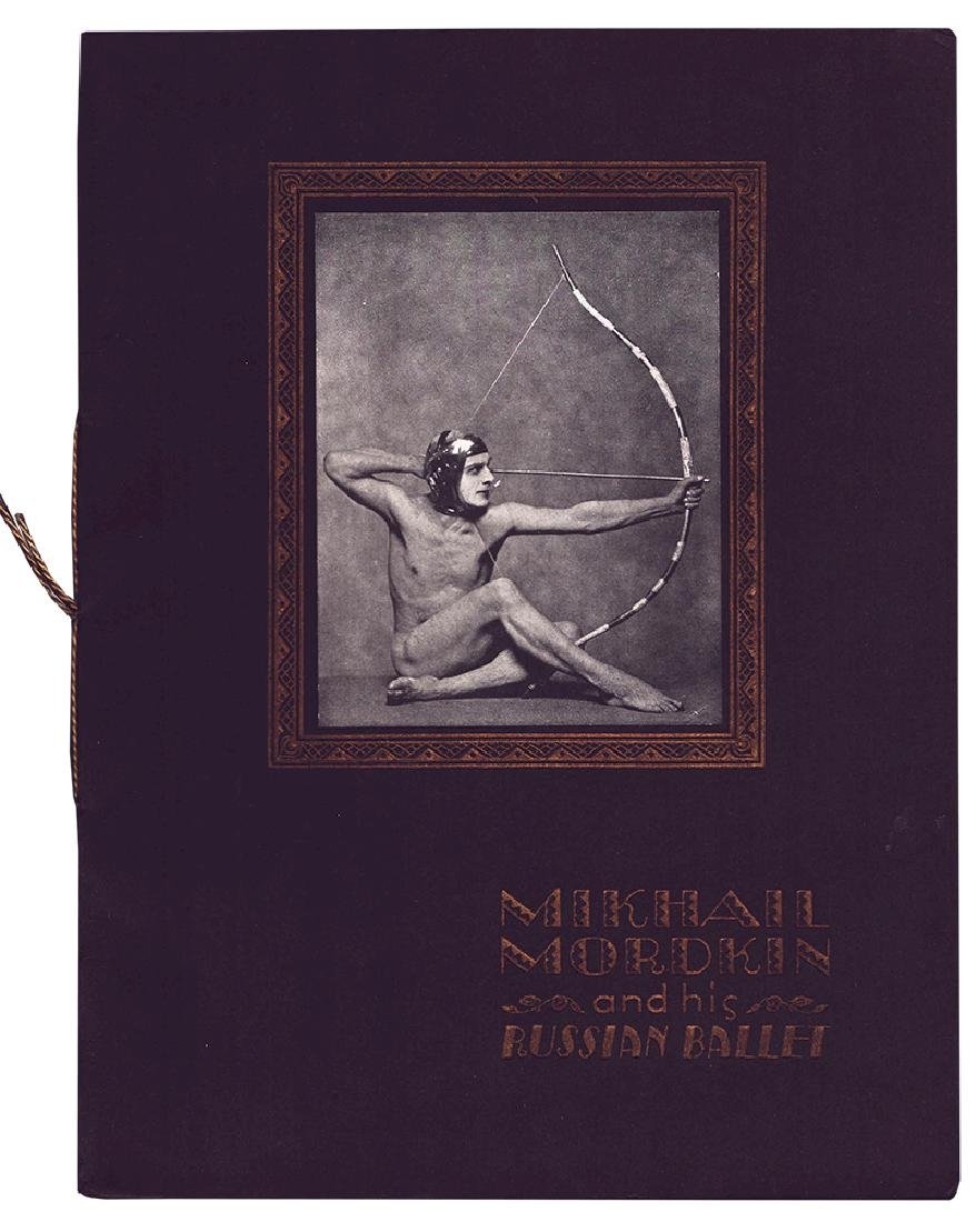 Mikhail Mordkin and his russian ballet