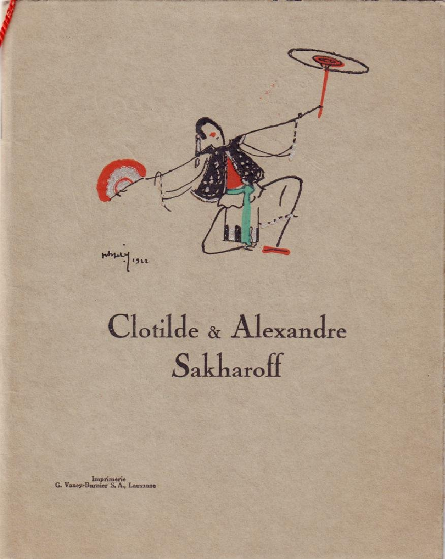 Alexander and Clotilde Sakharov's [Russians]