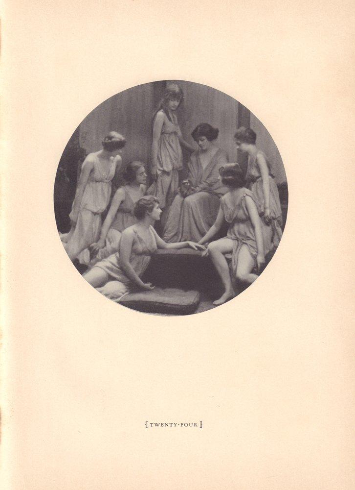 [Russian ballet] Isadora Duncan [Russian; 1877-1927].
