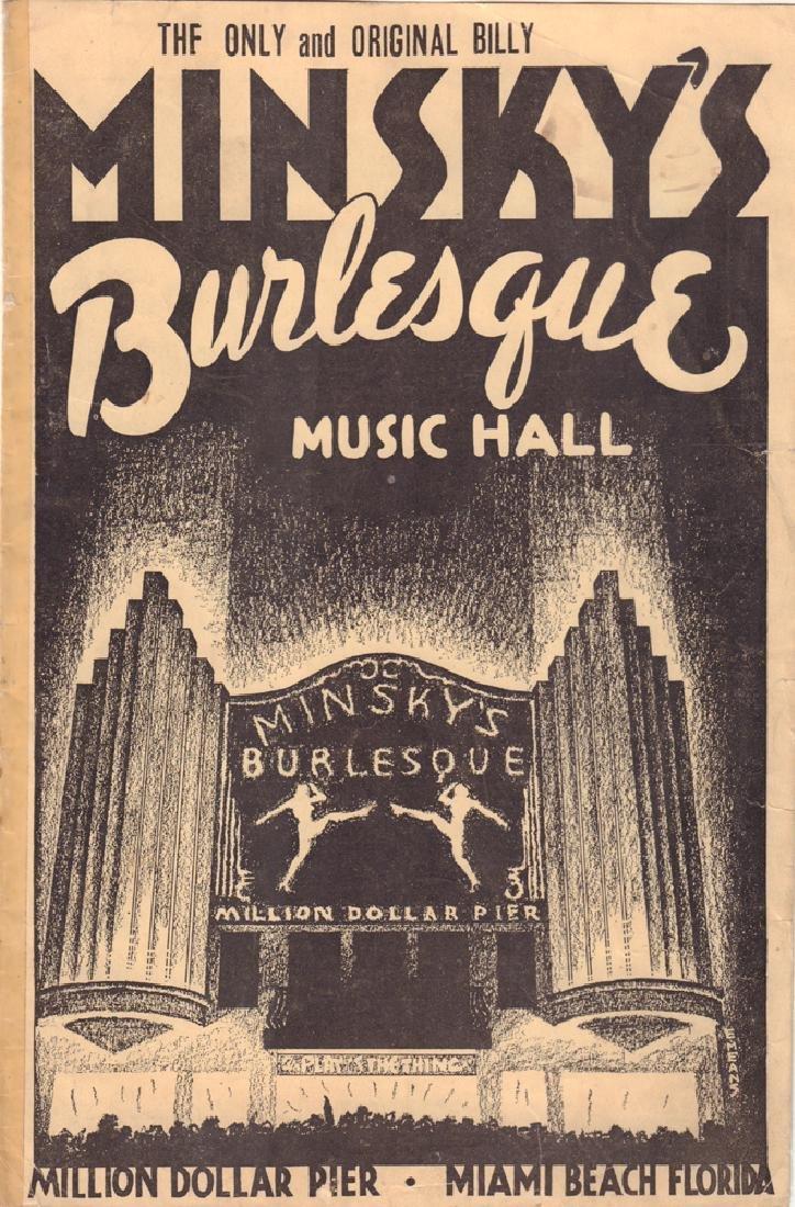 [Bernhardt; Shirley Temple; Moulin Rouge] Seven theatre