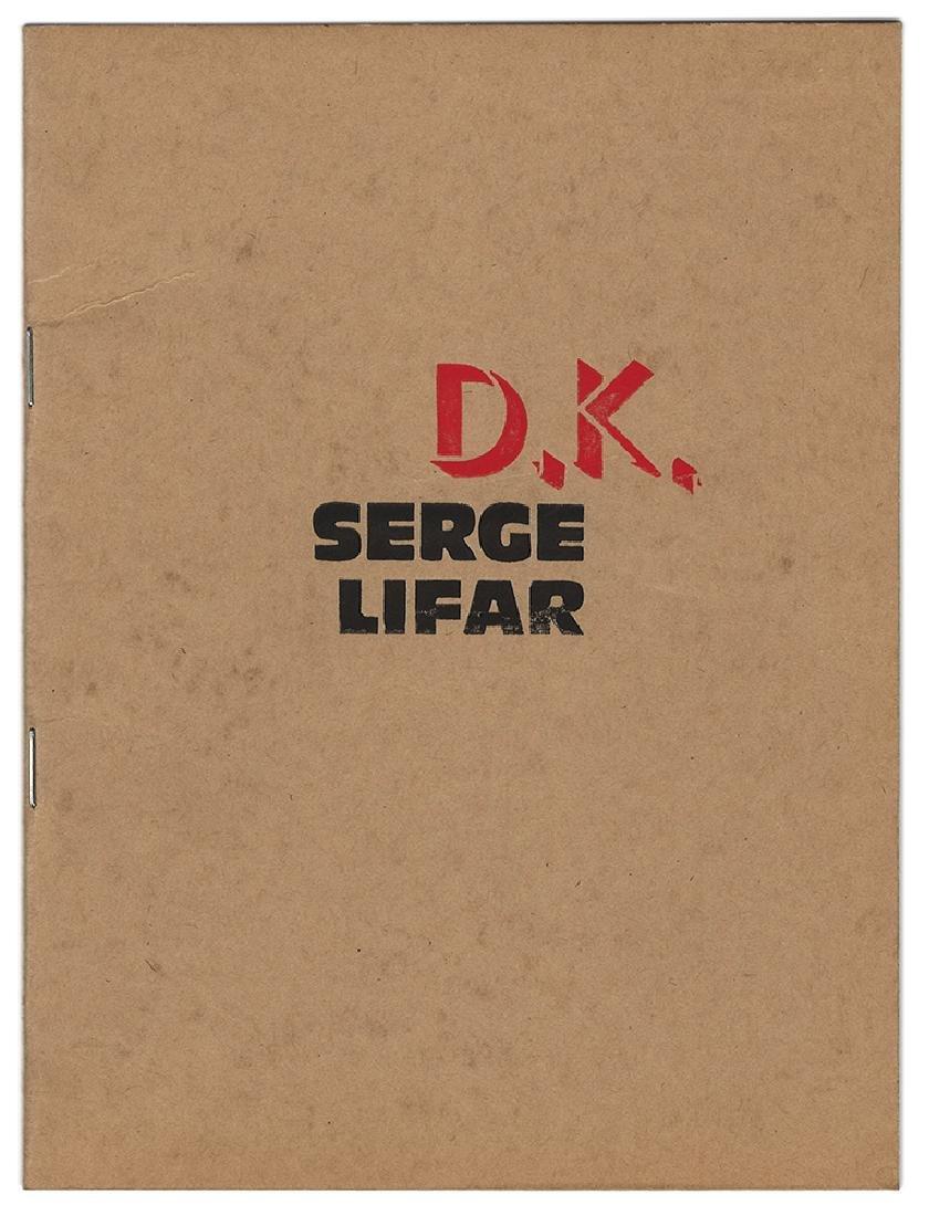 Dronnikov, N. Serge Lifar en dix dessins