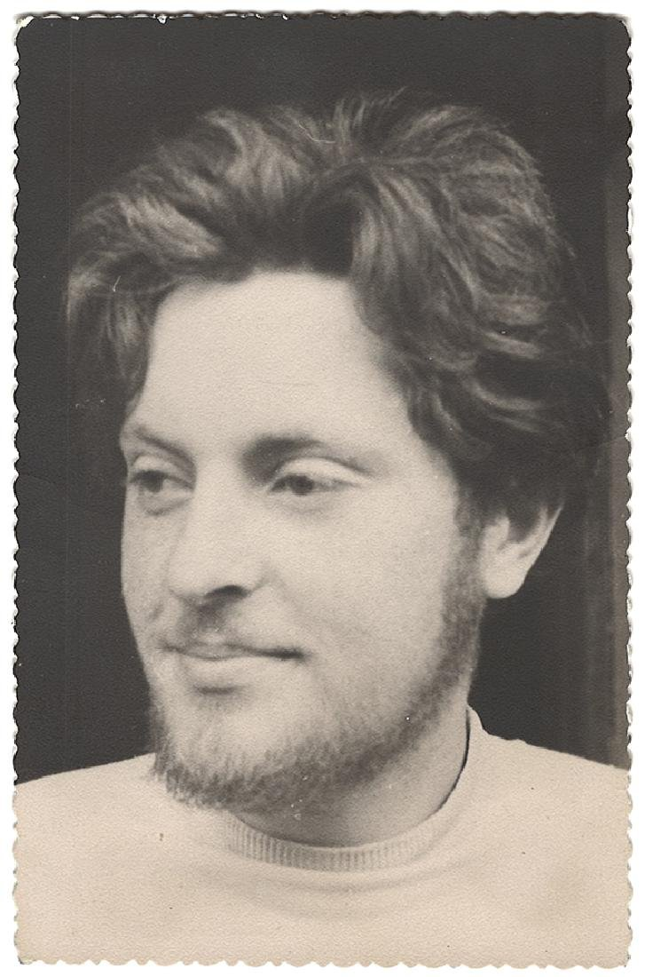Joseph Brodsky. Photo. [Russian; Soviet]. Late 1950s.
