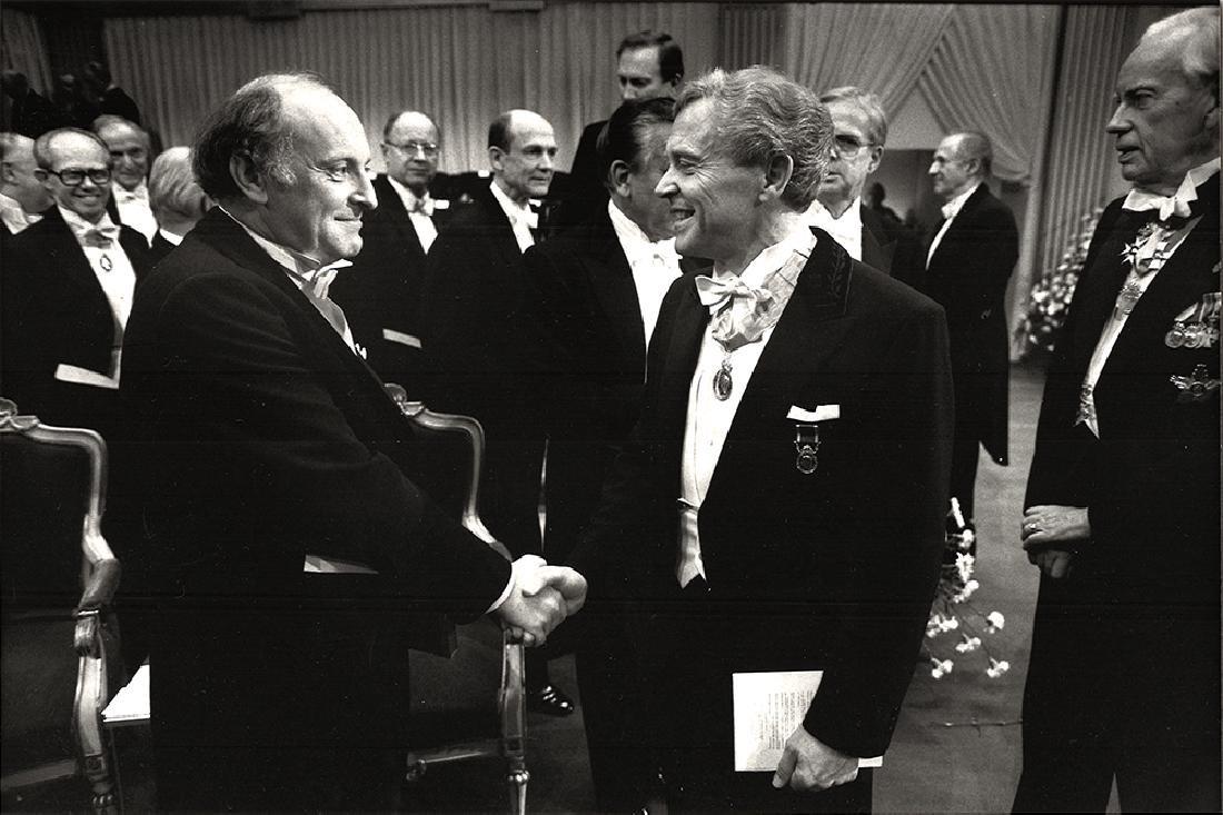 Joseph Brodsky at The Nobel Prize Award Ceremonies.1987