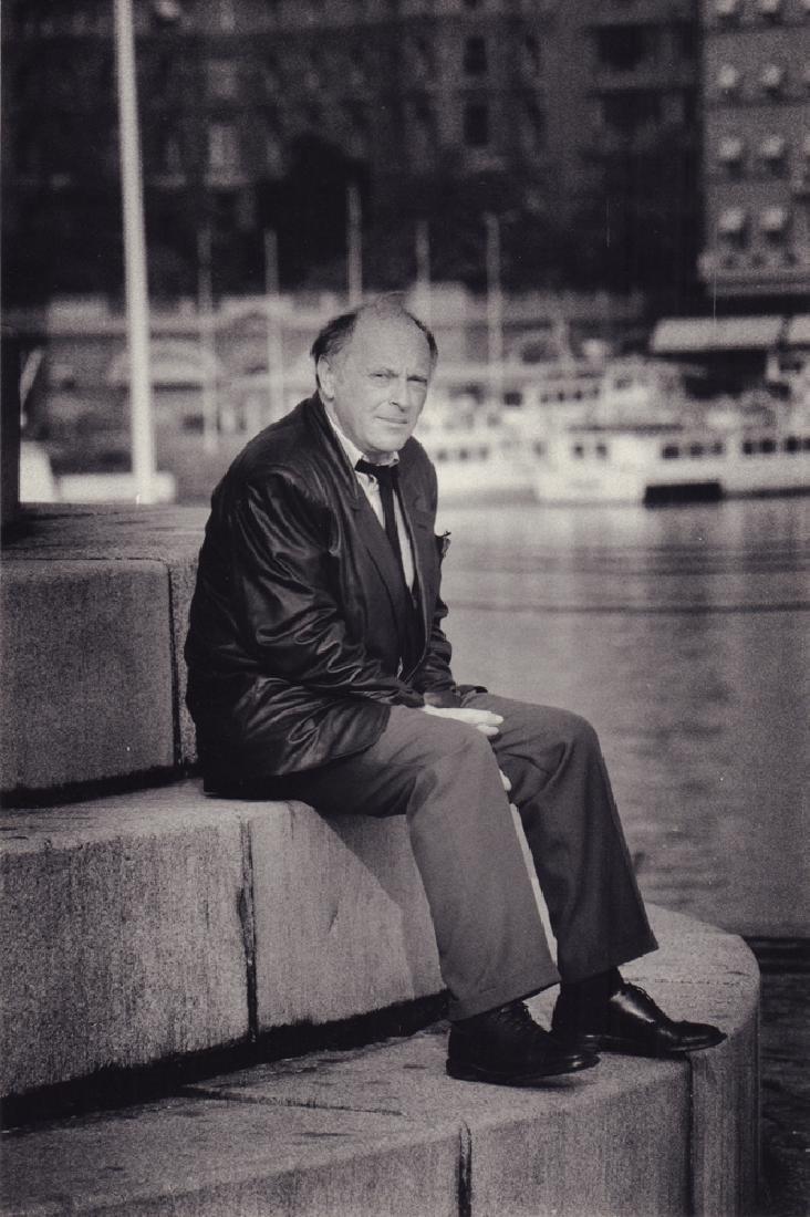 Joseph Brodsky in Stockholm. Photo. 1987.