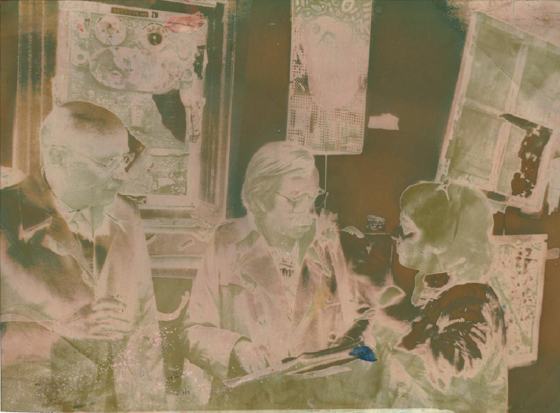 Oskar Rabin, Aleksandr Glezer, Mary Terez. 1988