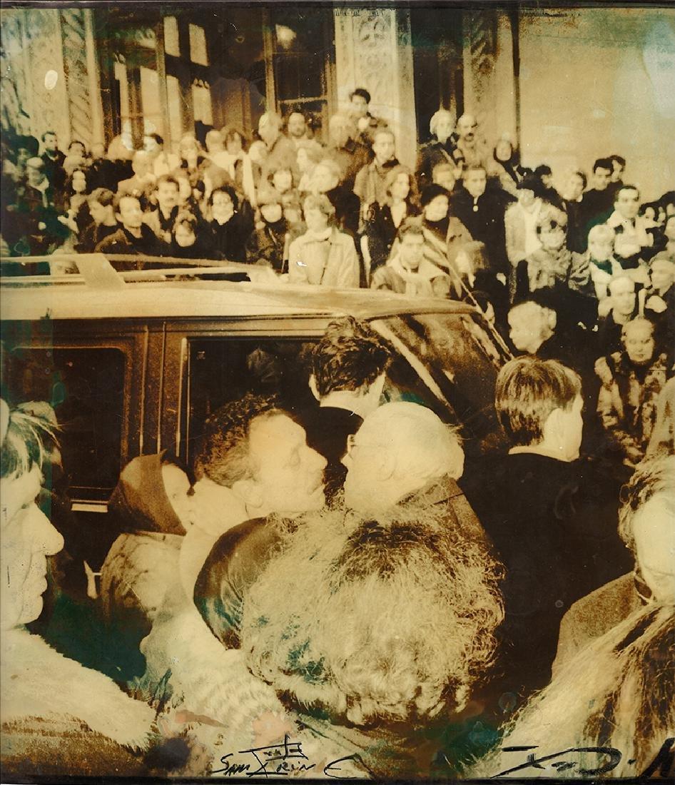 Andrey Tarkovsky's funeral. 1986. Photo by V. Samarin
