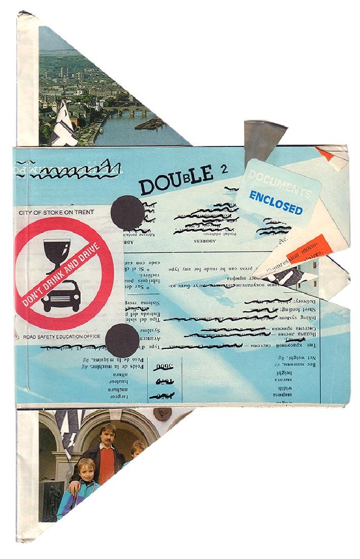 Double 2: International mail art & visual poetry review