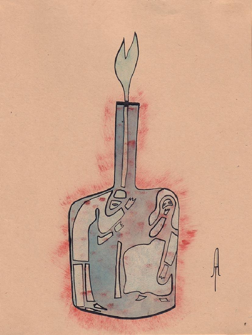 [Ry Nikonova]. Tarshis, A.A. A Picasso bottle.