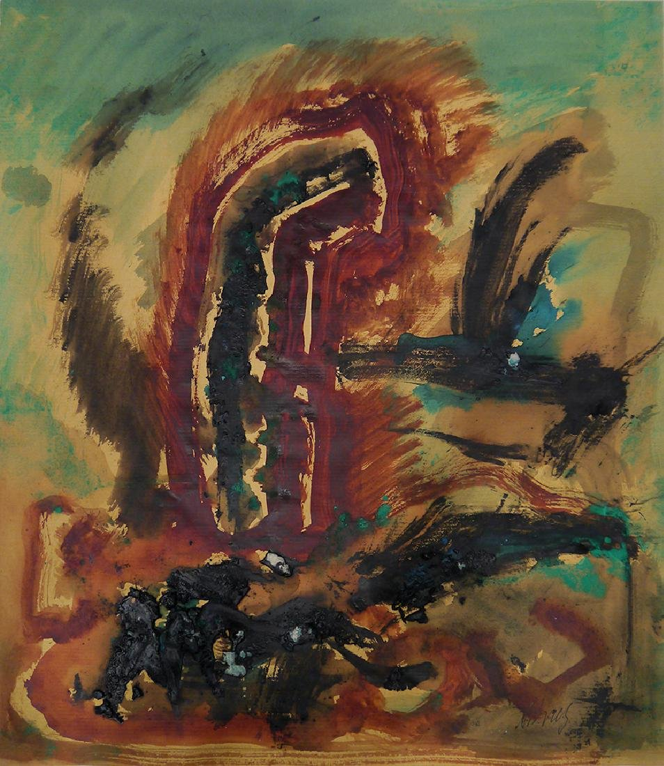 "Brusilovsky, A. Painting ""Go"". 1997."