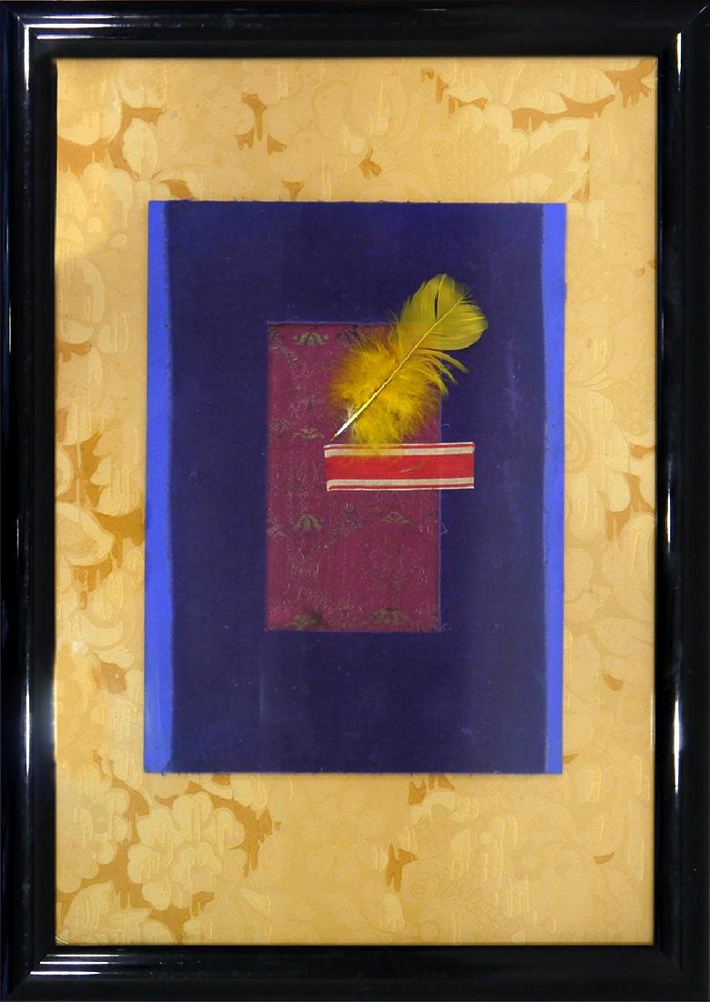 "Brusilovsky, A. Assemblage ""Feather"". 1998"