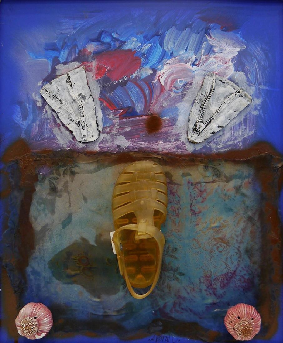 """Brusilovsky, A. Assemblage """"Cot d'Azur"""". Cologne, 2002."""