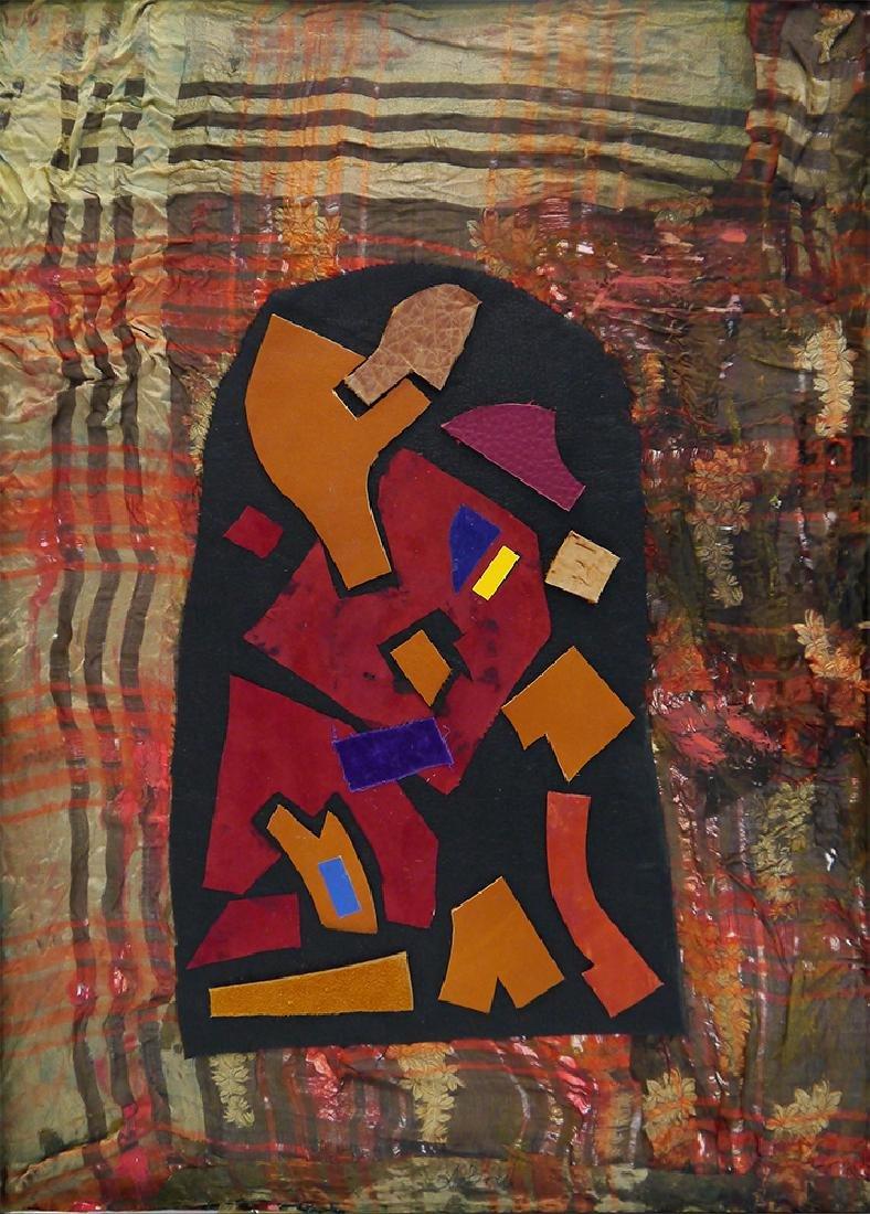 "Brusilovsky, A. Assemblage ""Schild"". Cologne, 2006."