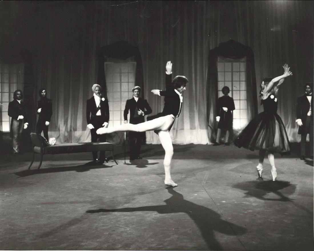Rudolf Nureyev and Margot Fonteyn in the ballet