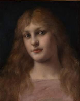 Wagner, Robert. Woman portrait.