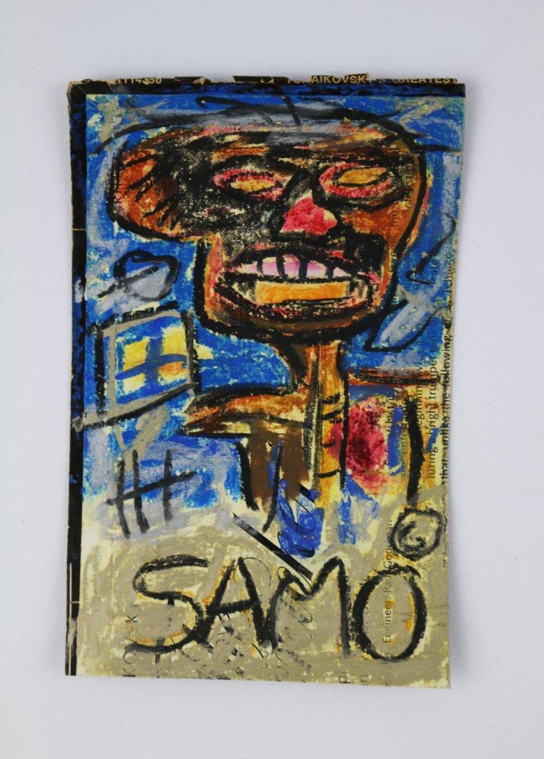 Jean-Michel Basquiat SAMO Portrait