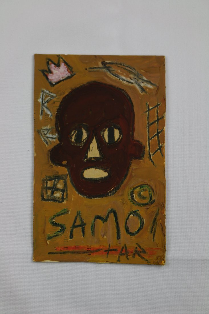 Jean-Michel Basquiat SAMO Portait
