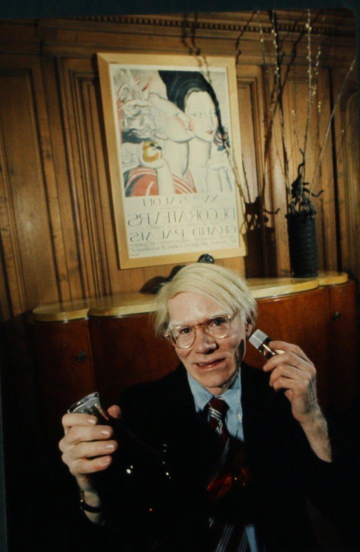 Candid Slide Andy Warhol