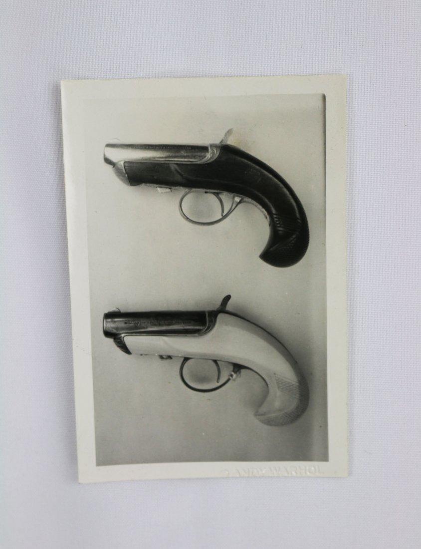 Andy Warhol Original Silver Gelatin Photograph