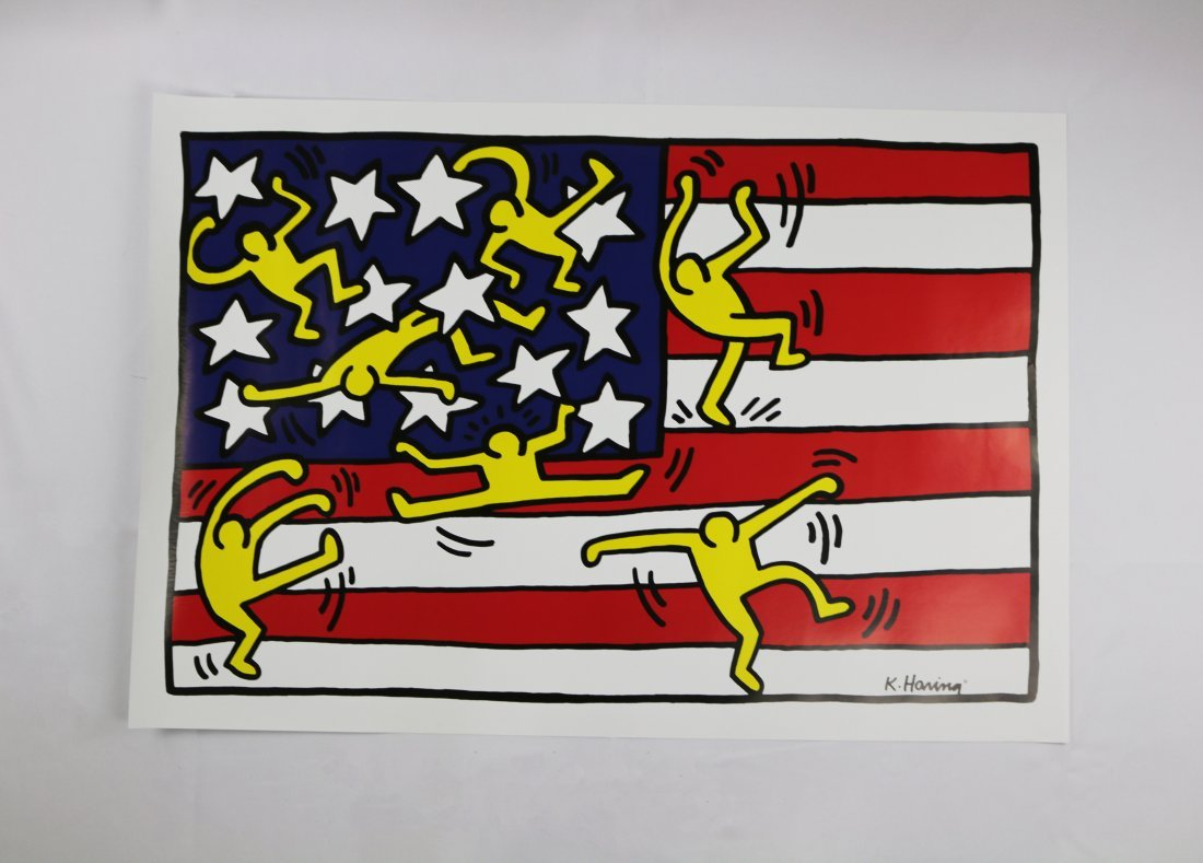 Keith Haring American Music Festival 1988 Poster