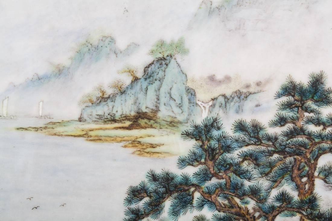 CHINESE PORCELAIN PLAQUE - 5