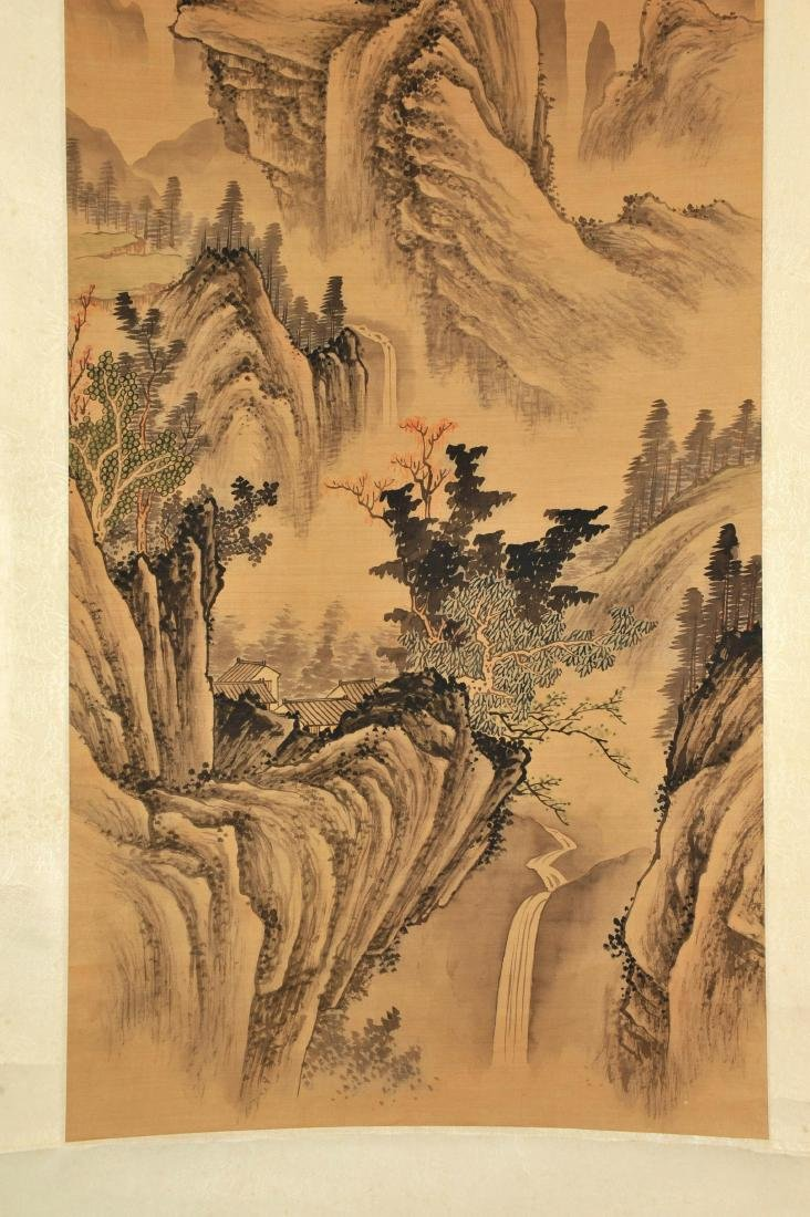 CHINESE SCROLL LANDSCAPE PAINTING - 2