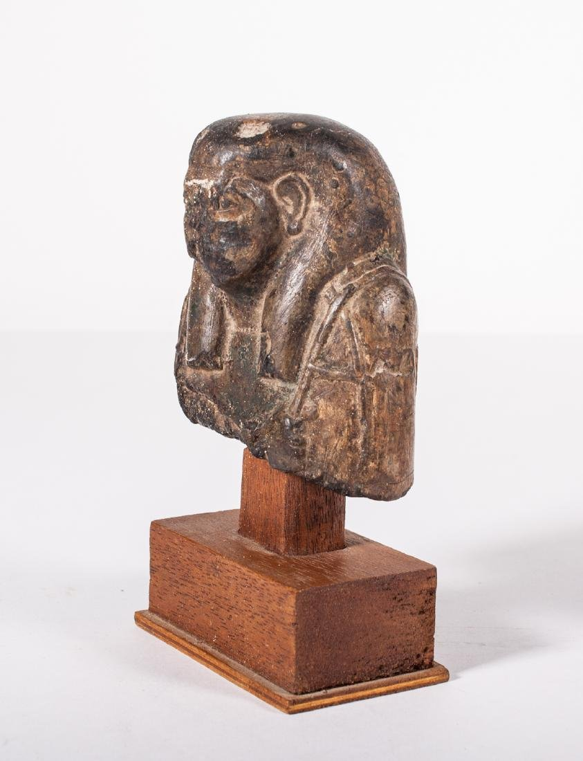 ANCIENT EGYPTIAN STONE USHABTI - 2