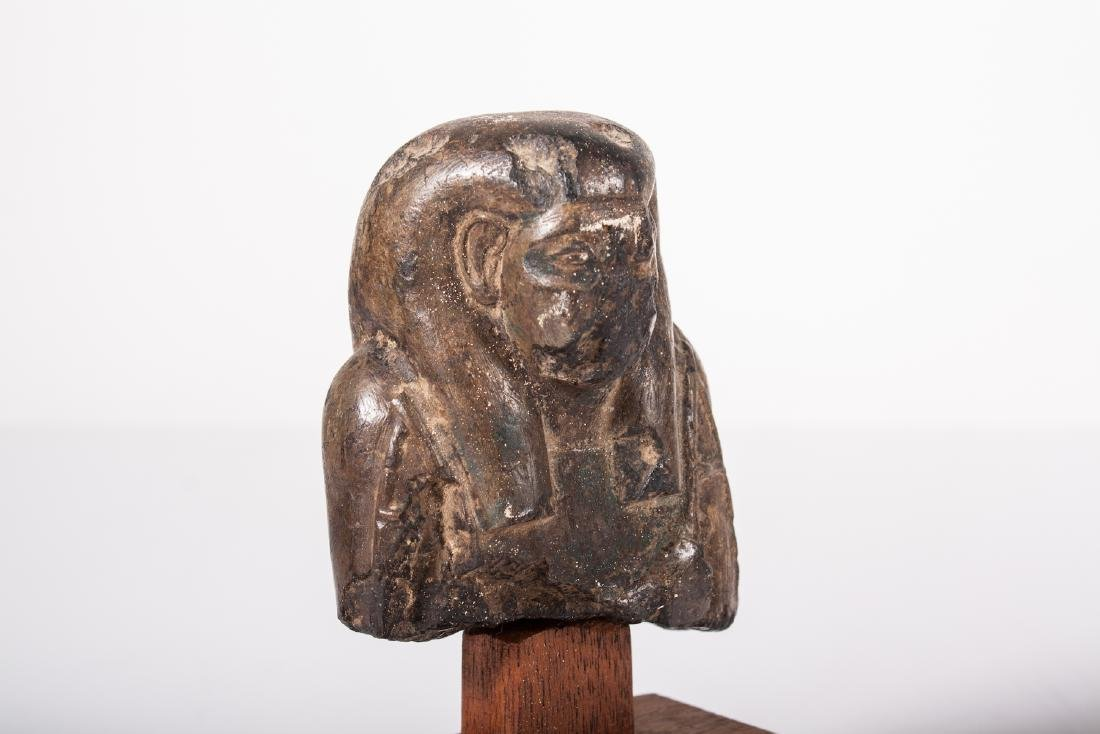ANCIENT EGYPTIAN STONE USHABTI - 5