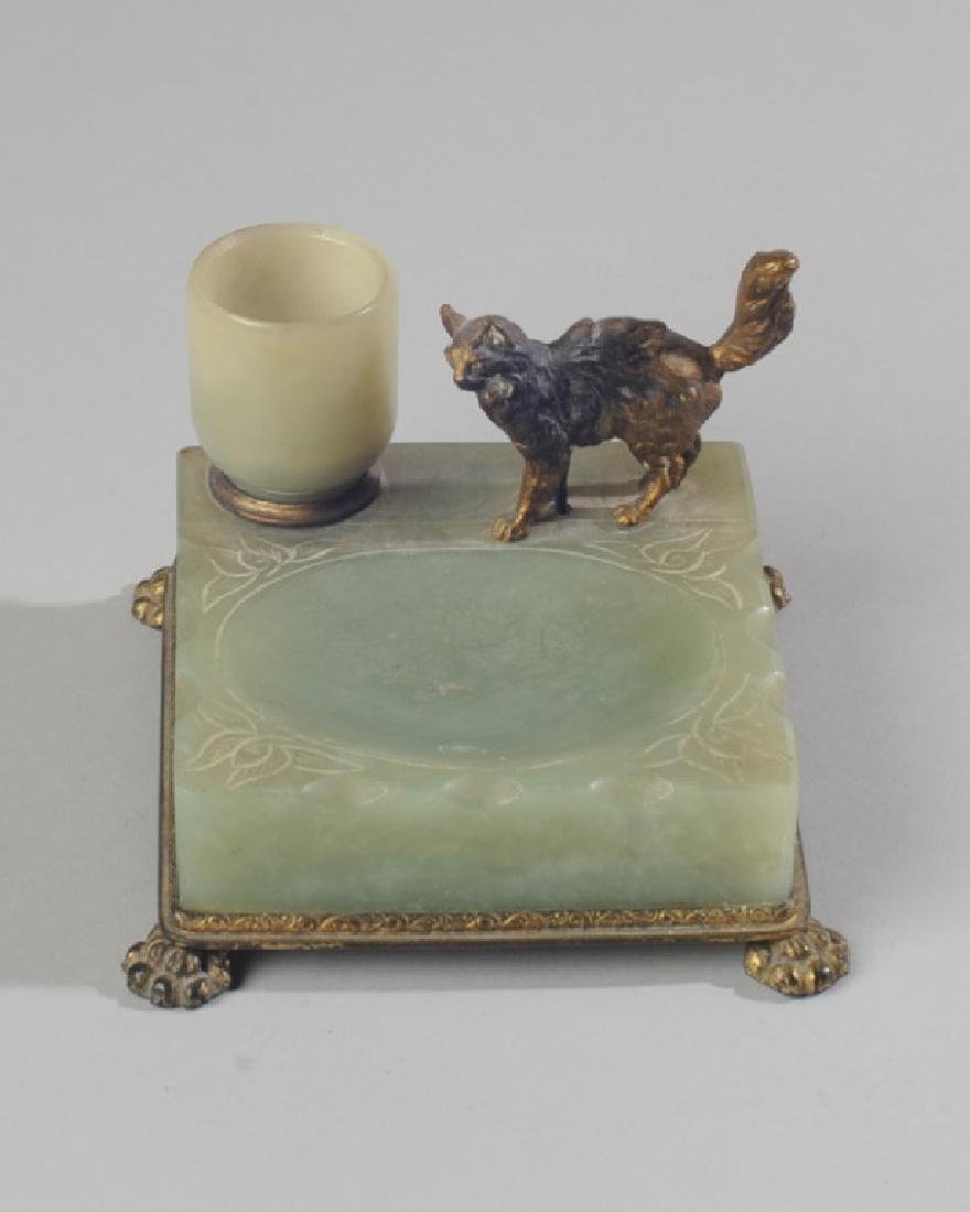 RARE NICHOLAS HAYDON JADE ASHTRAY