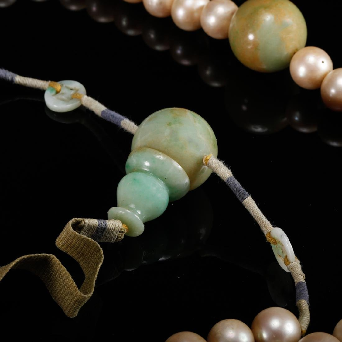 CHINESE PEARL COURT BEADS NECKLACE, QING - 6