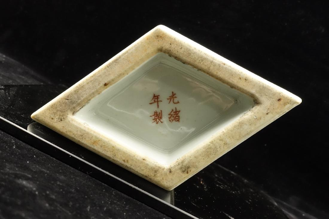CHINESE QIANJIANG PAINTED PORCELAIN VASES, PAIR - 3