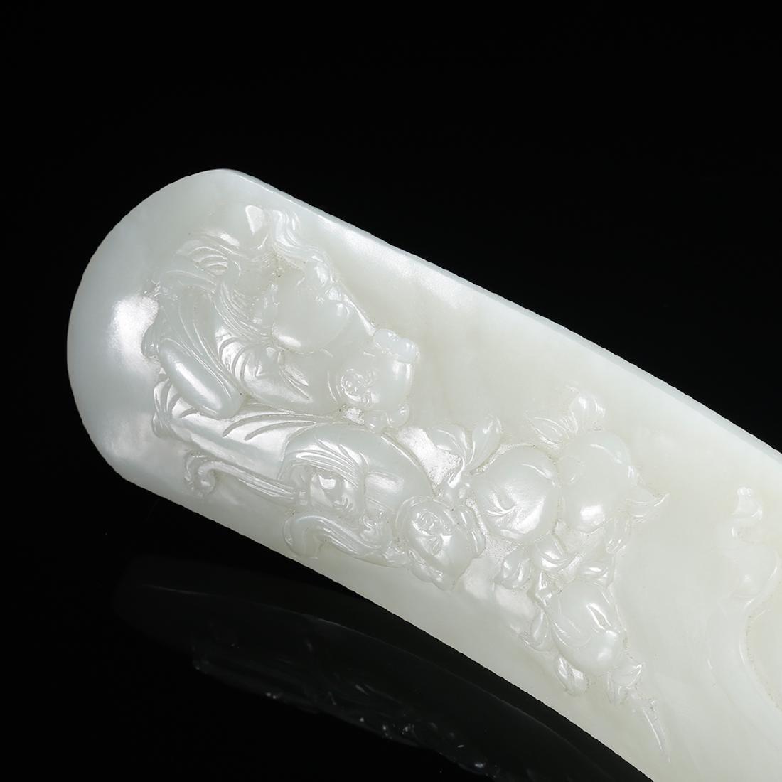 CHINESE WHITE JADE RUYI - 6