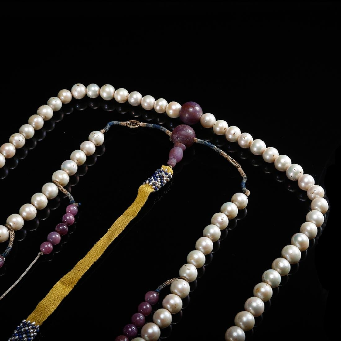 CHINESE PEARL COURT BEADS NECKLACE, QING - 5