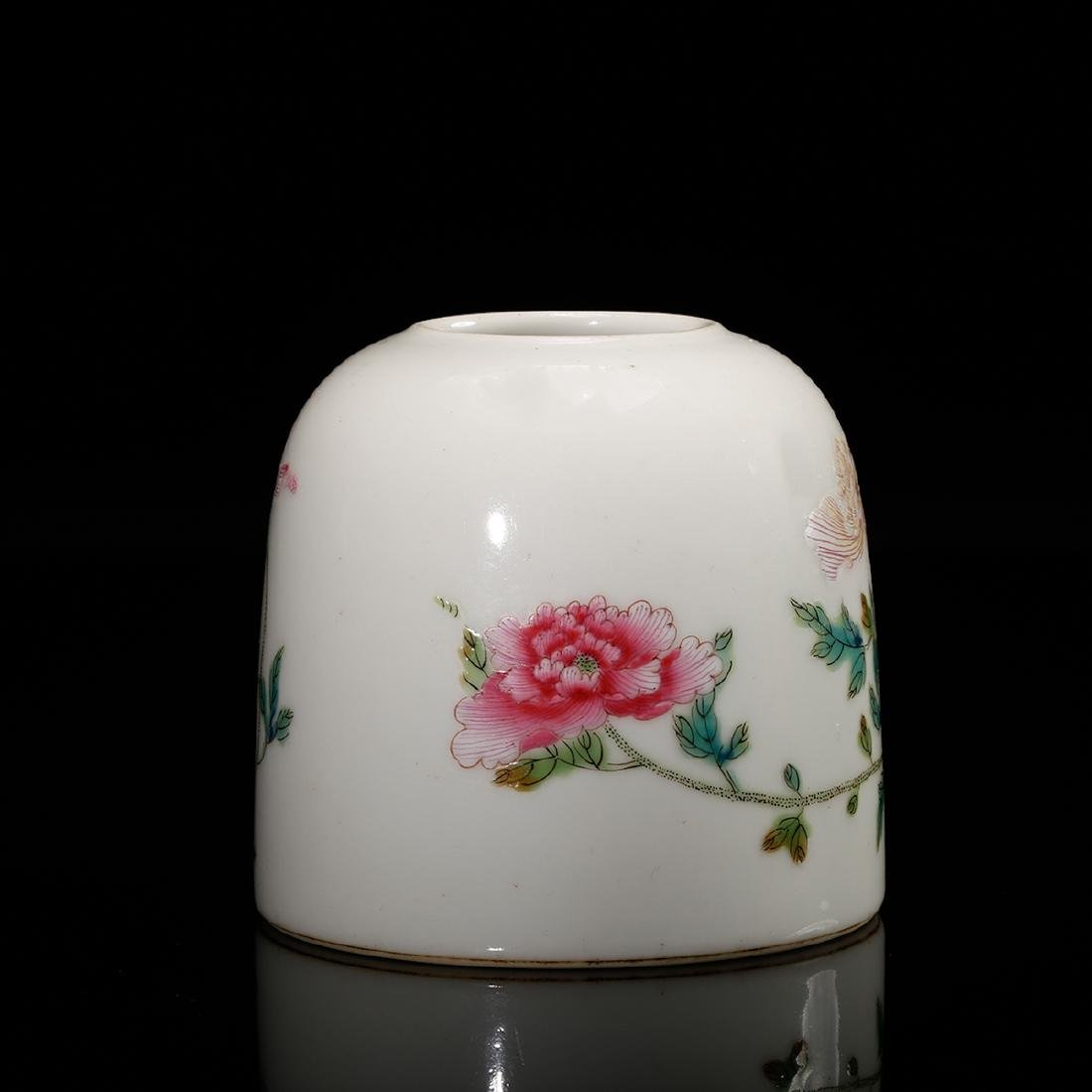 CHINESE FAMILLE ROSE WATER COUPE - 3