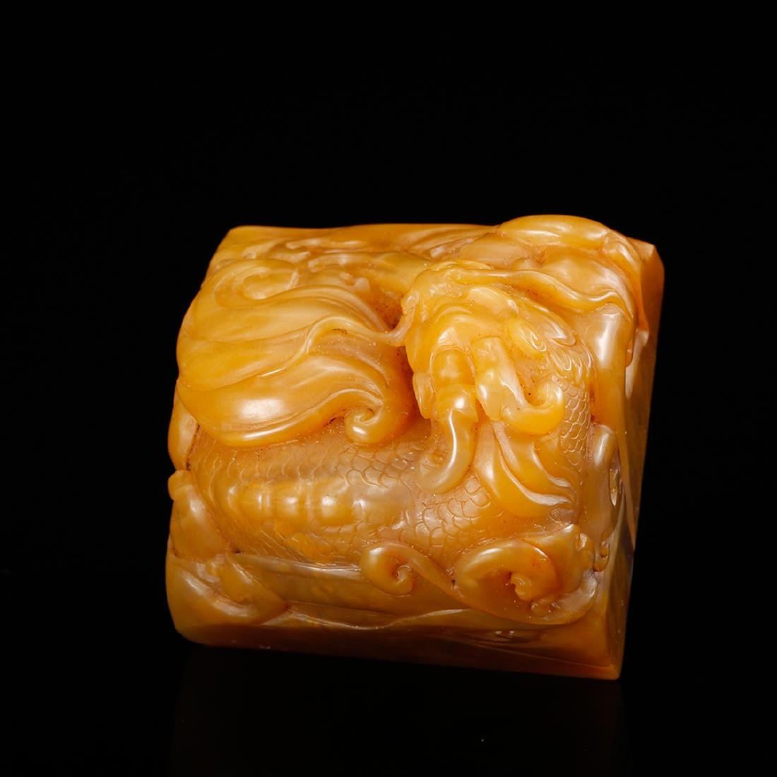 CHINESE TIANHUANG SOAPSTONE SEAL - 6
