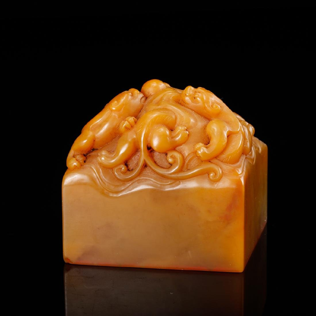 CHINESE TIANHUANG SOAPSTONE SEAL - 2