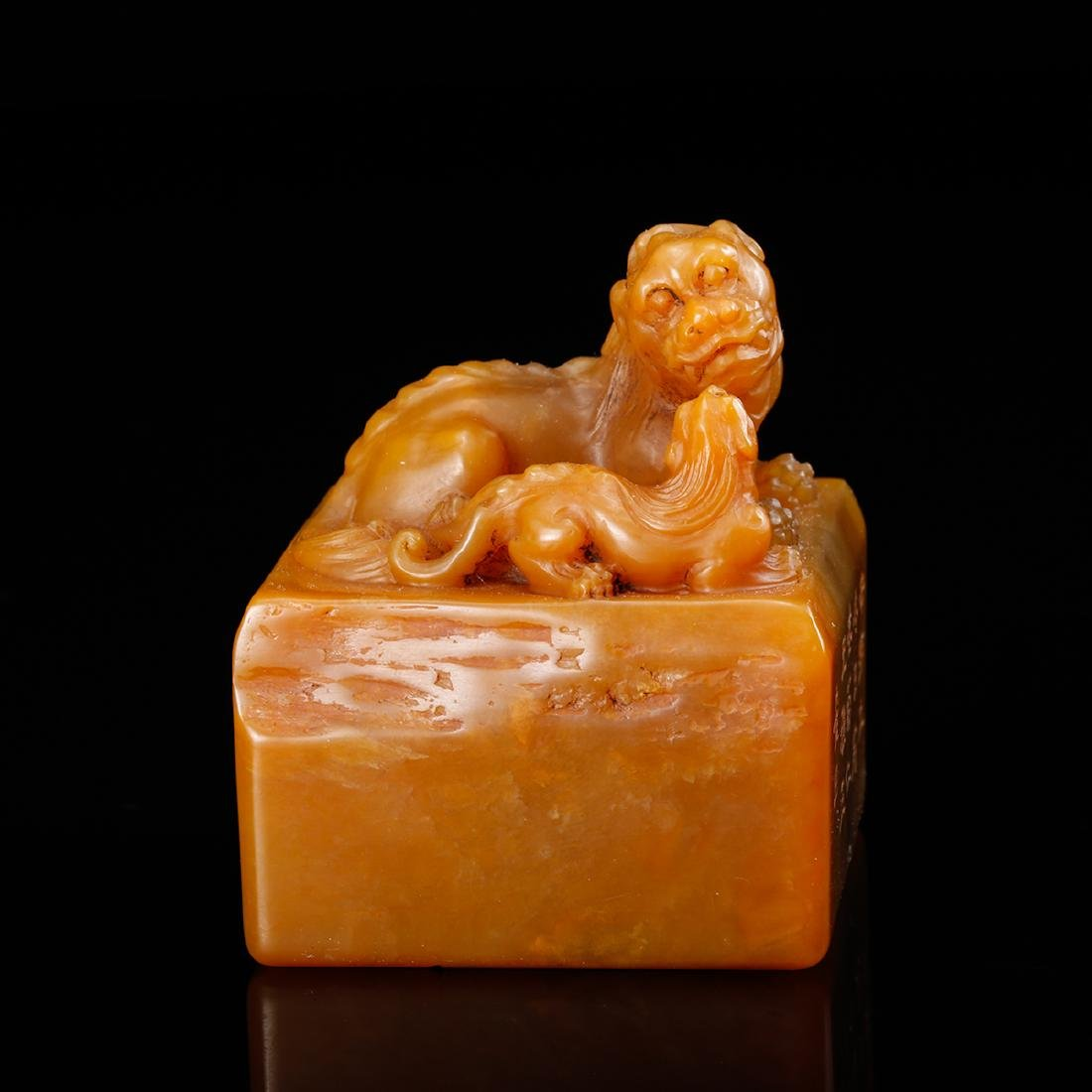 CHINESE TIANHUANG SOAPSTONE SEAL - 4