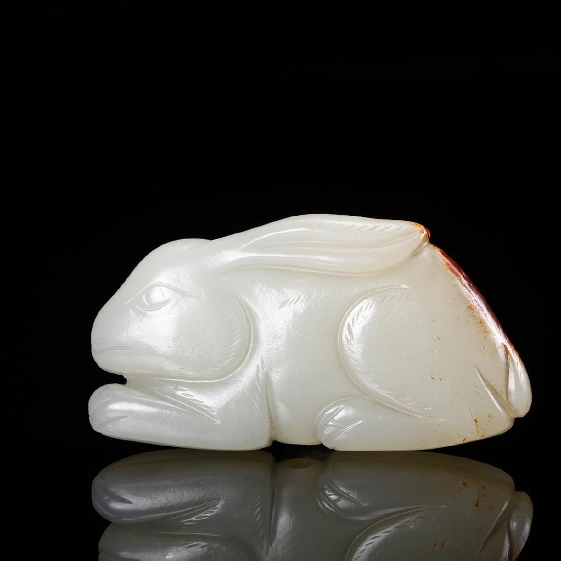 CHINESE WHITE JADE RABBIT