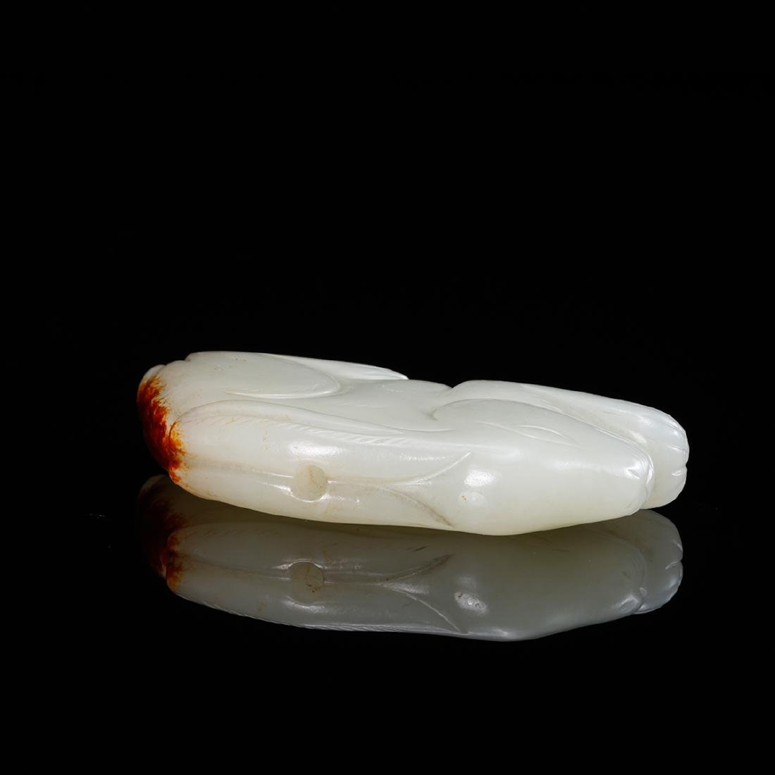 CHINESE WHITE JADE RABBIT - 3