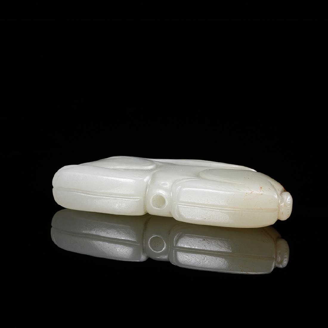 CHINESE WHITE JADE RABBIT - 4