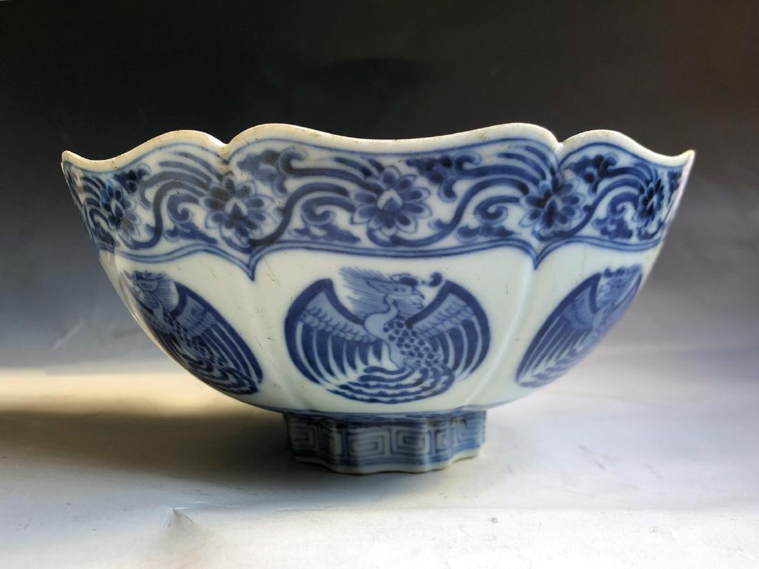 CHINESE BLUE WHITE PORCELAIN BOWL
