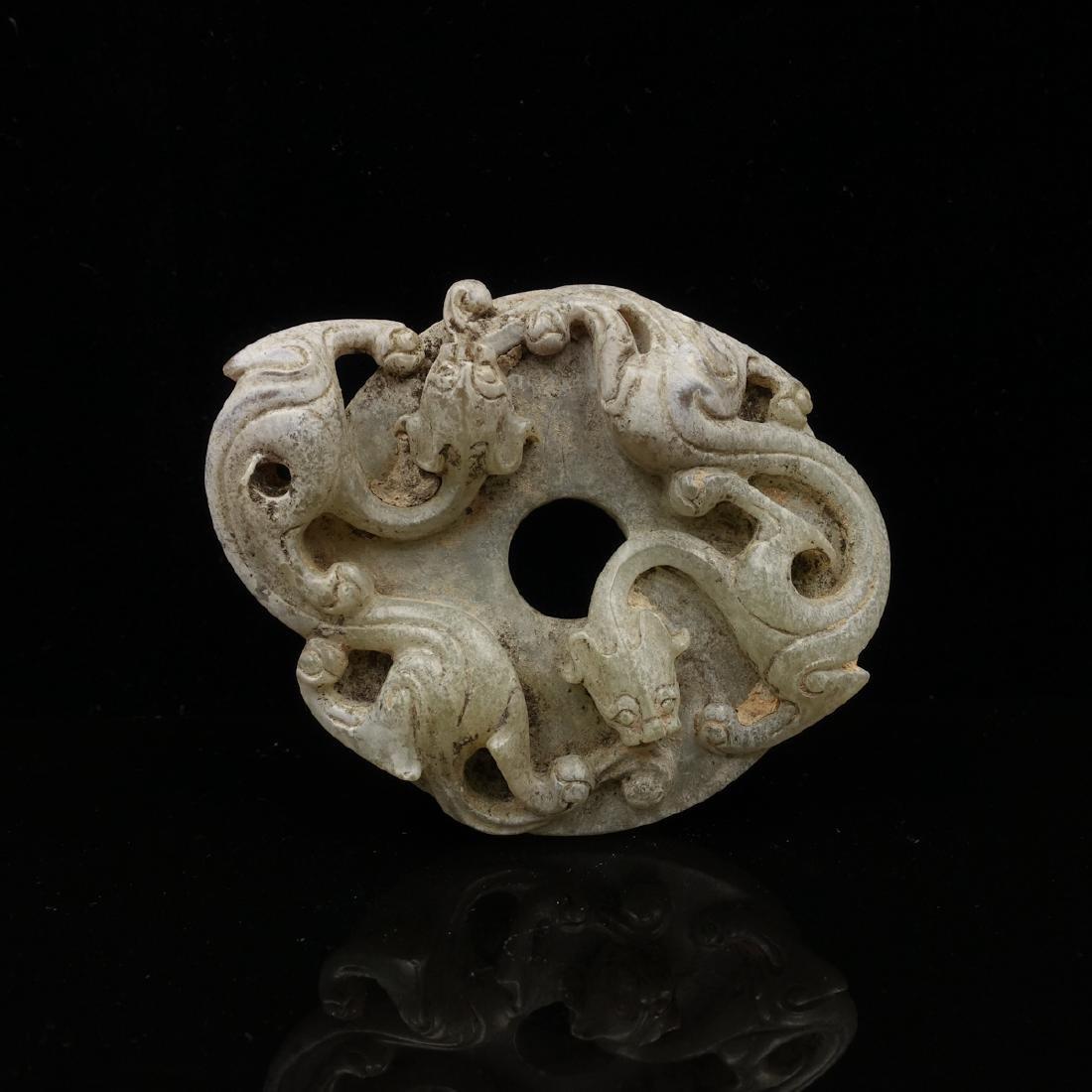 CHINESE ARCHAIC JADE