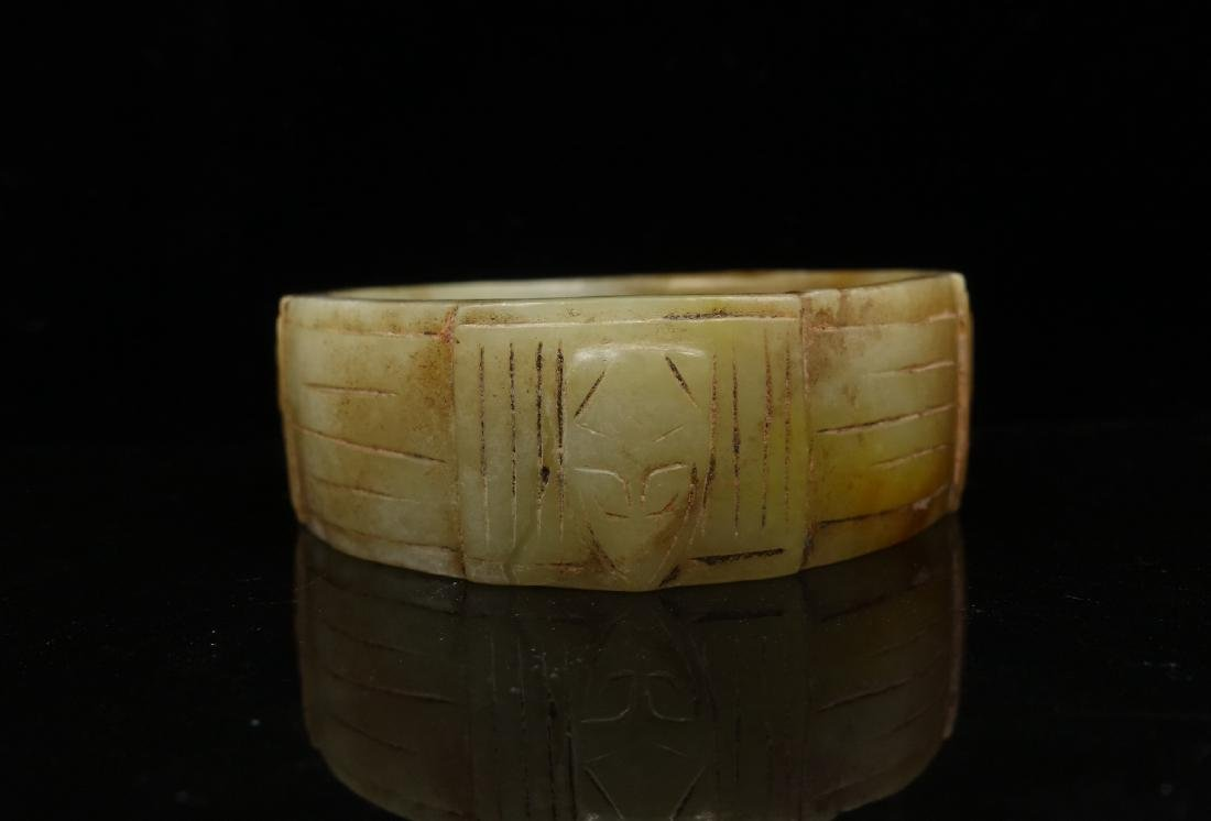 CHINESE ARCHAIC JADE CONG