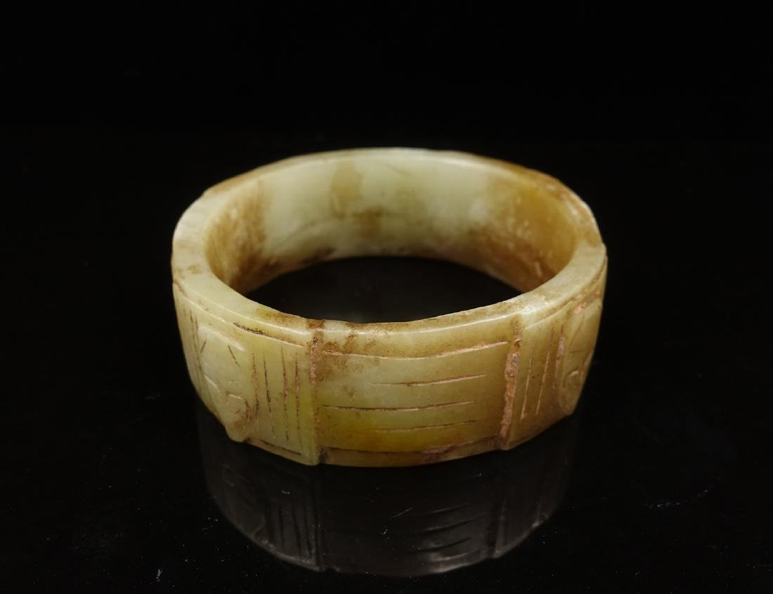 CHINESE ARCHAIC JADE CONG - 2