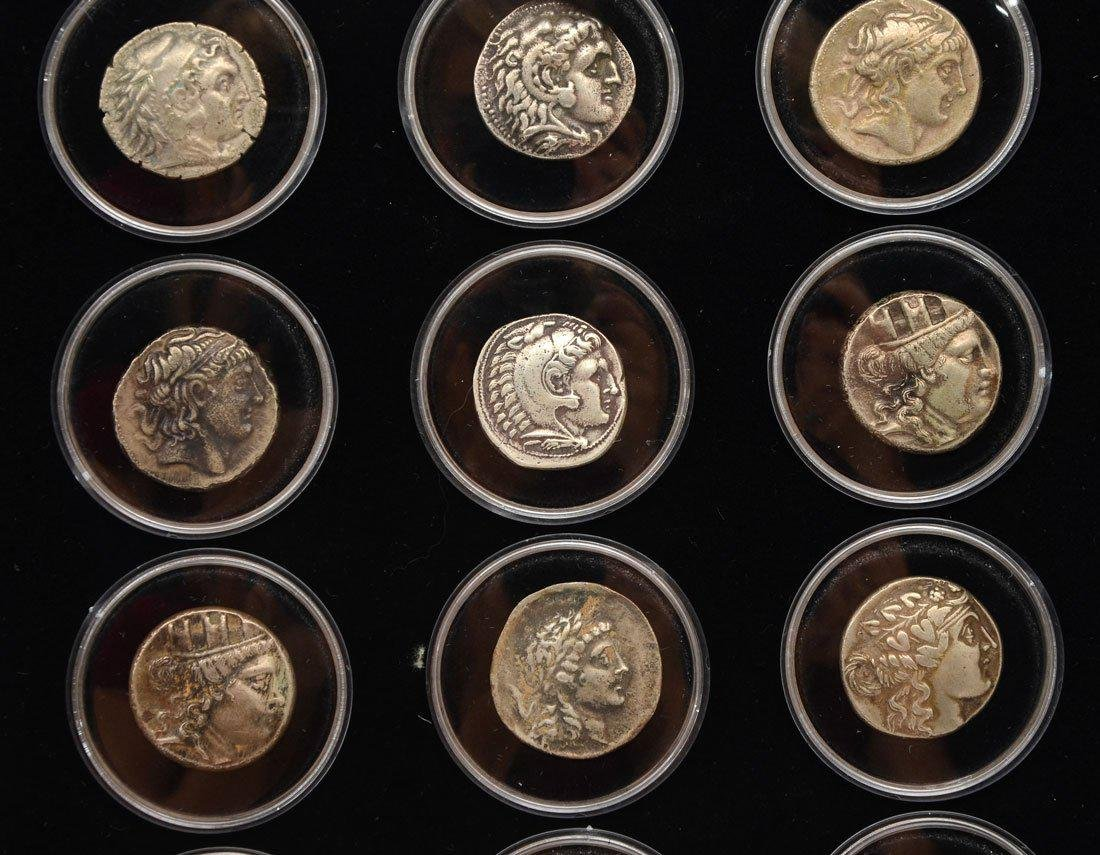 COLLECTION OF ANCIENT ROMAN & GREEK COINS - 2