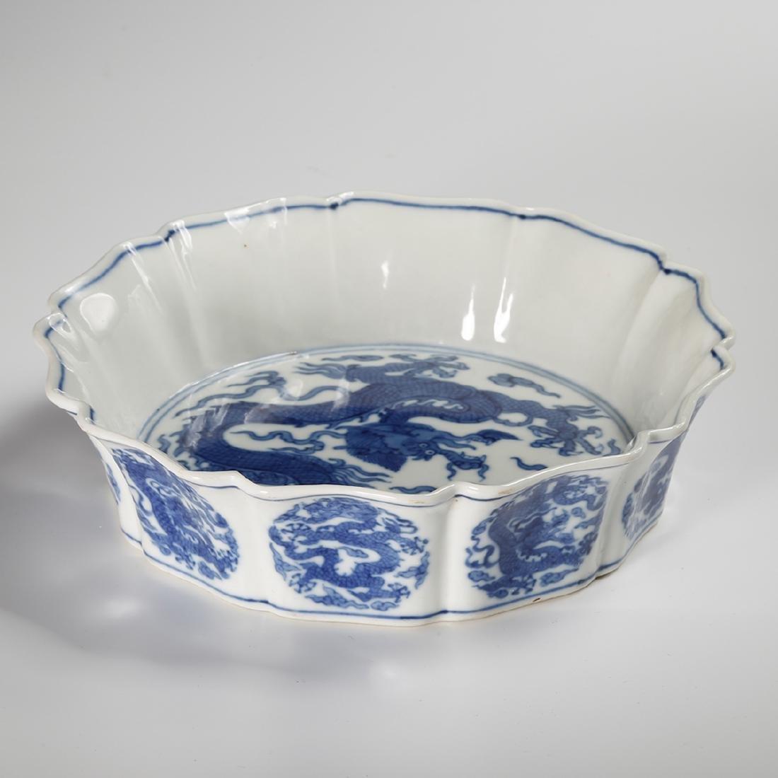 CHINESE BLUE WHITE PORCELAIN BOWL - 3