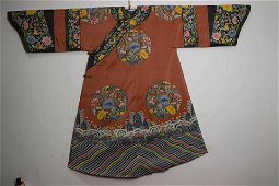 CHINESE QING DYNASTY LADY ROBE